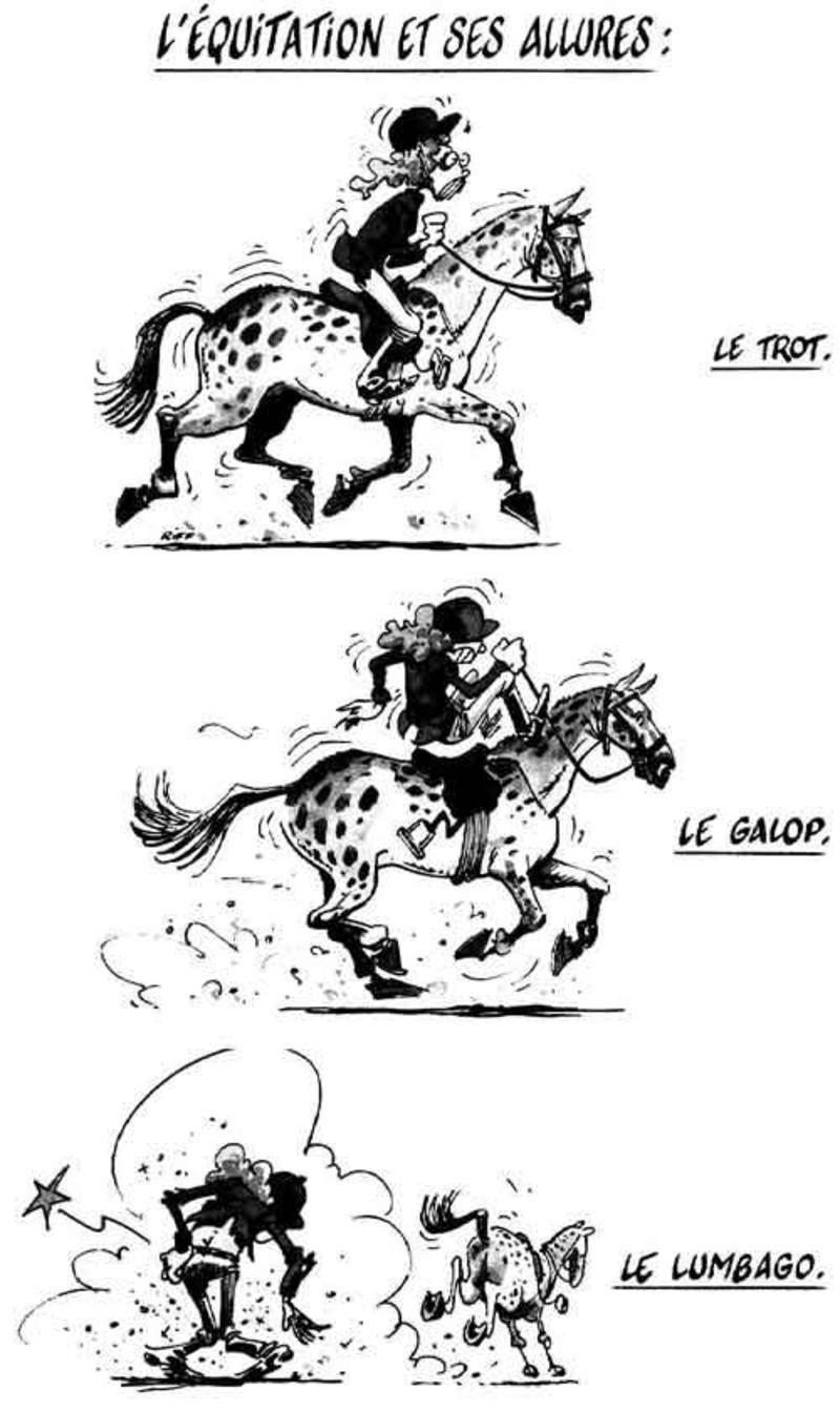 Humour Cheval